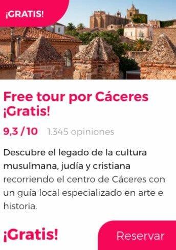 free tour caceres