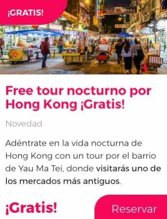 free tour hong kong nocturno