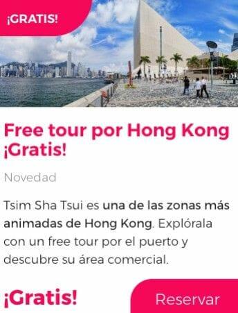 free tour hong kong