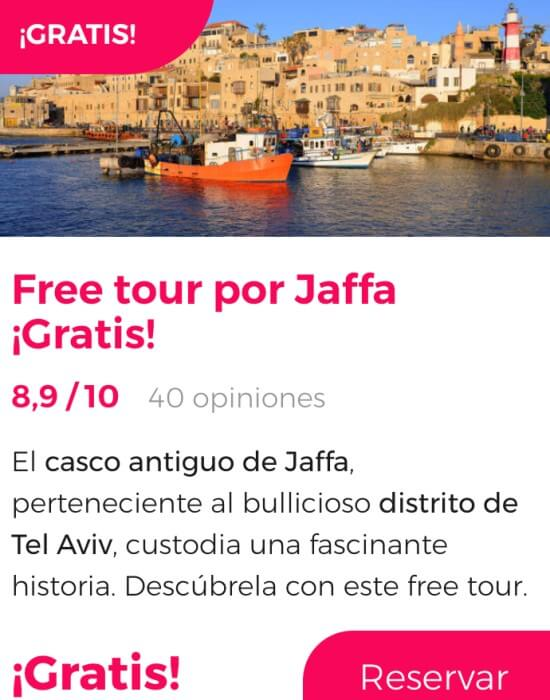 free tour jaffa