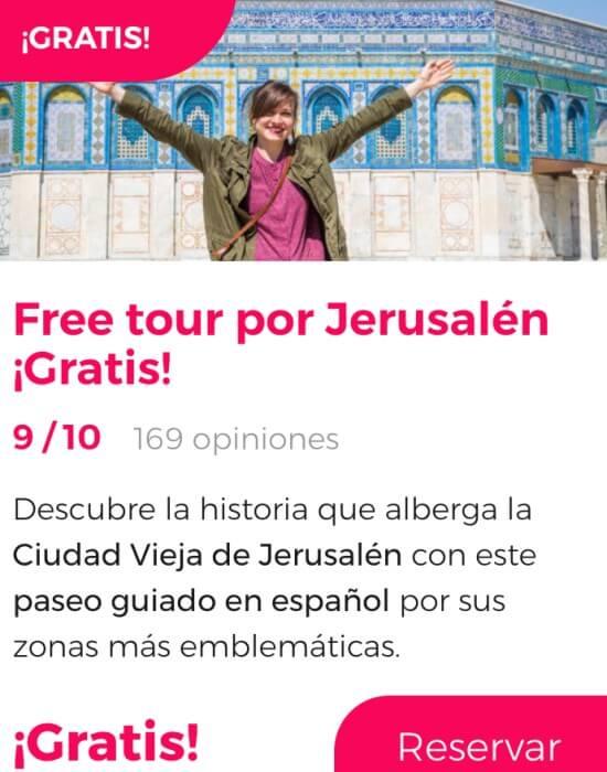 free tour jerusalen