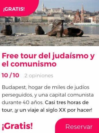 free tour judaismo comunismo budapest