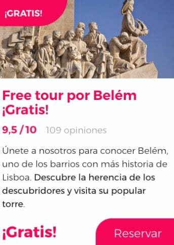free tour lisboa belem