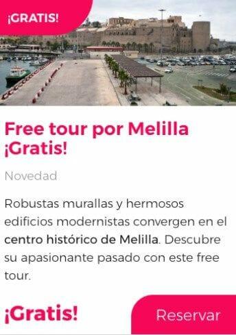 free tour melilla