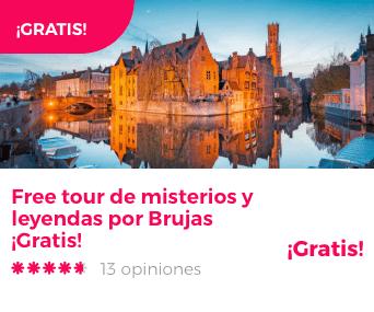 Free tour de misterios y leyendas por Brujas