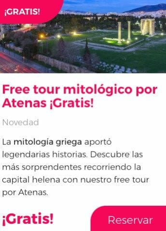 free tour atenas mitologico