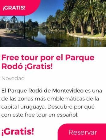 Free tour por el Parque Rodó