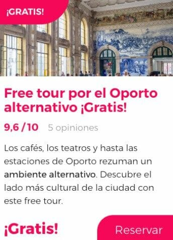 free tour oporto alternativo