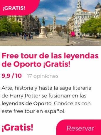free tour leyendas oporto