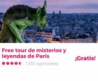 free tour paris misterios y leyendas
