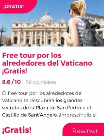 free tour roma alrededores vaticano