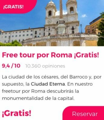 free tour roma