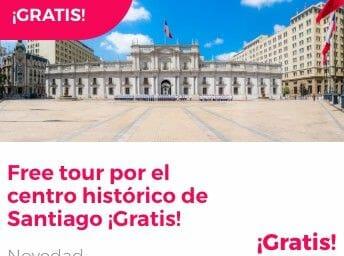 free tour santiago centro historico