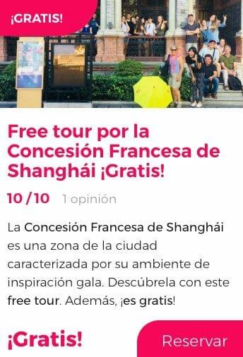 free tour shanghai concesión francesa