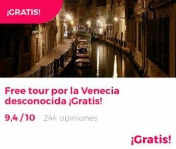 free tour venecia desconocida