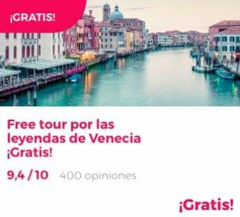 free tour venecia misterios y leyendas