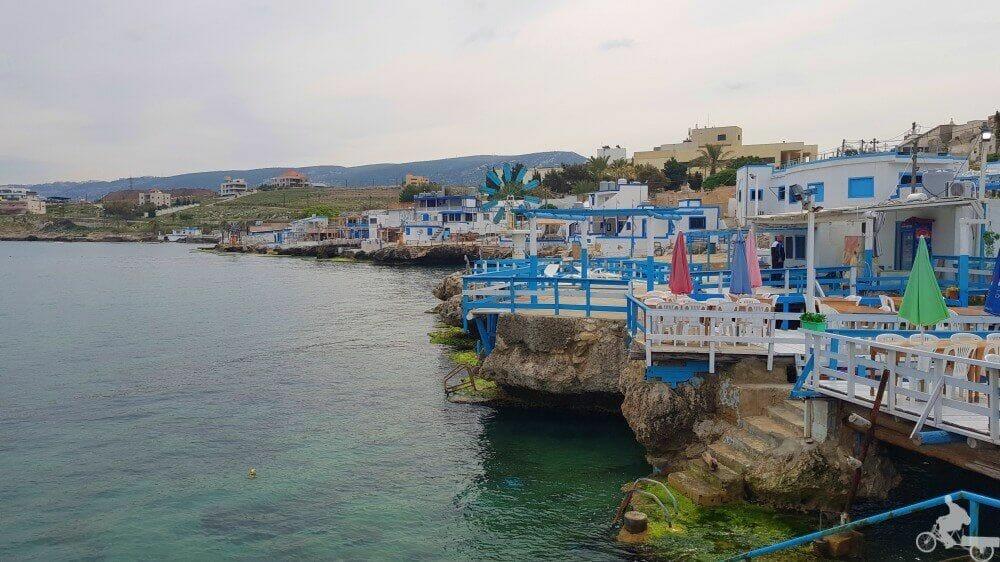 pueblo azul anfeh líbano