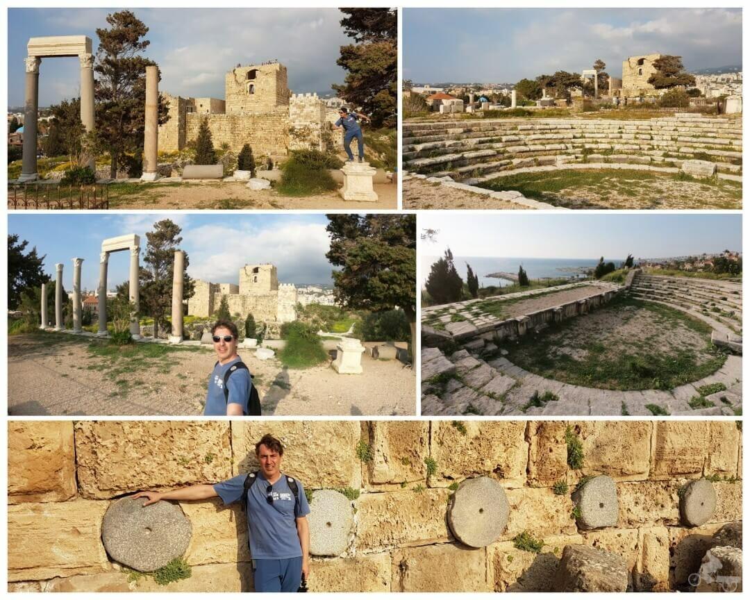 ruinas romanas de biblos