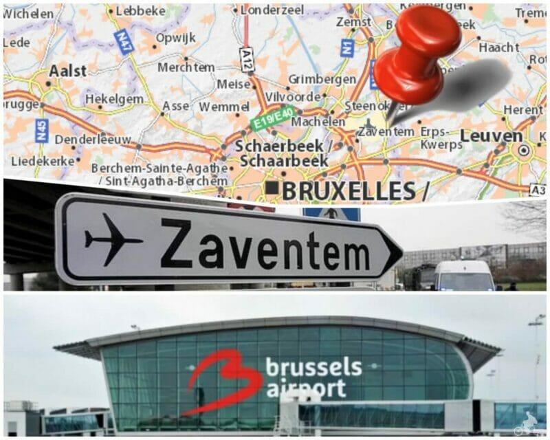aeropuerto zaventem bruselas