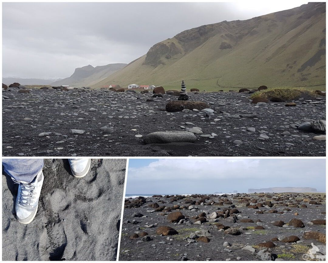 arena negra playa islandia