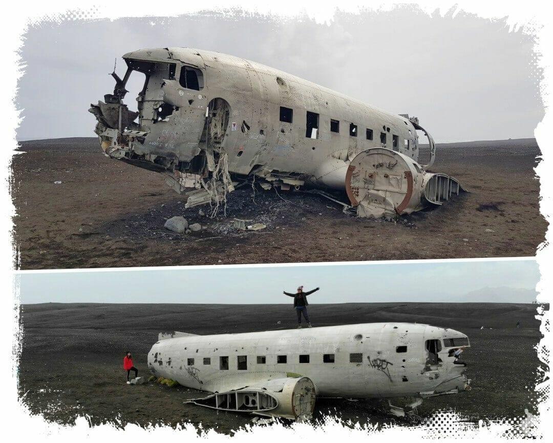 avion islandia