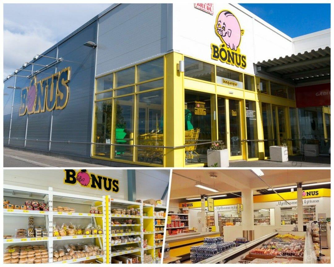 supermercado bonus islandia