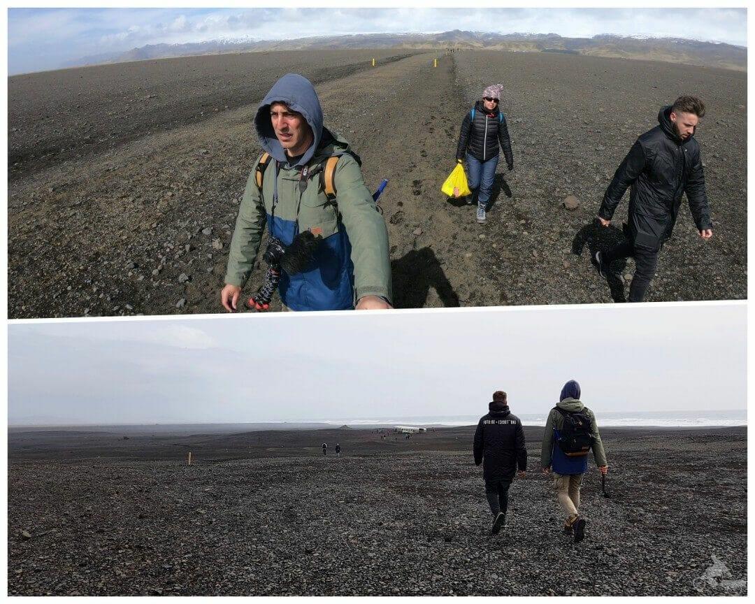 camino hasta avion estrellado islandia