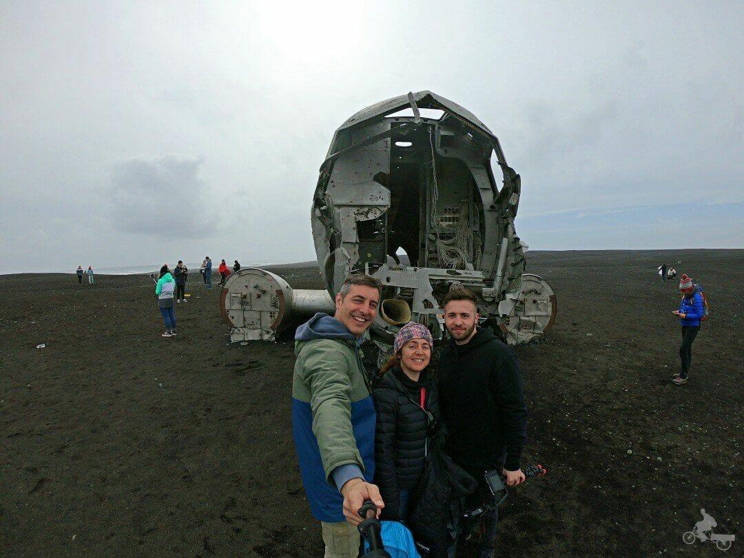 islandia avion abandonado