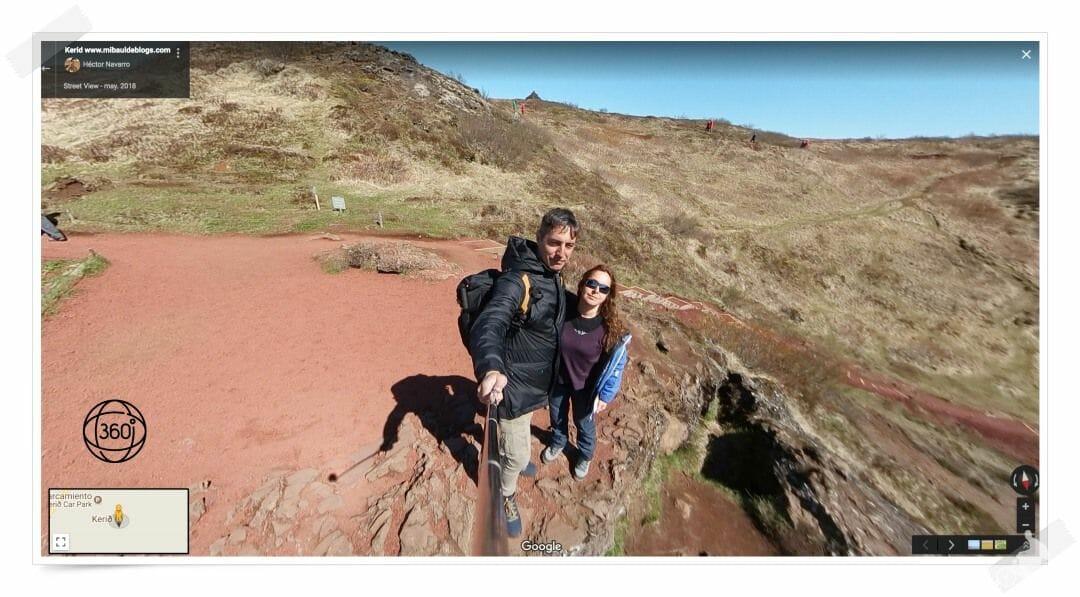 crater kerid de Islandia