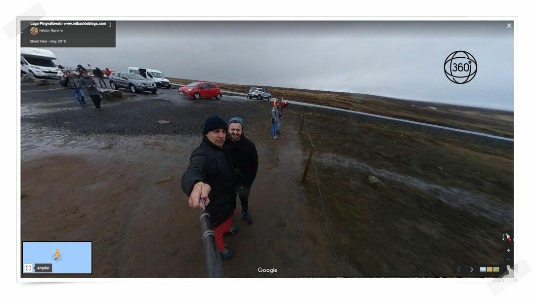 lago Þingvallavatn en 360