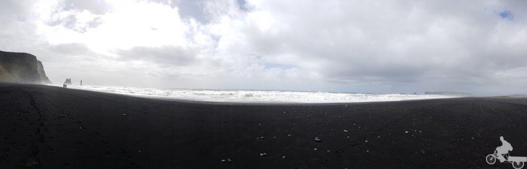 panoramica playa reynisfjara