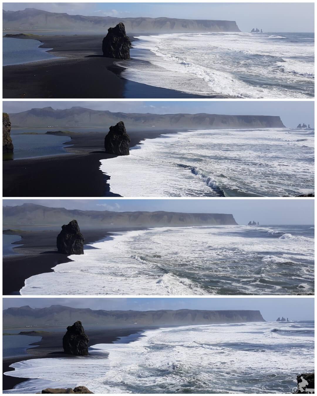 playa Reynisfjara desde Dyrholaey