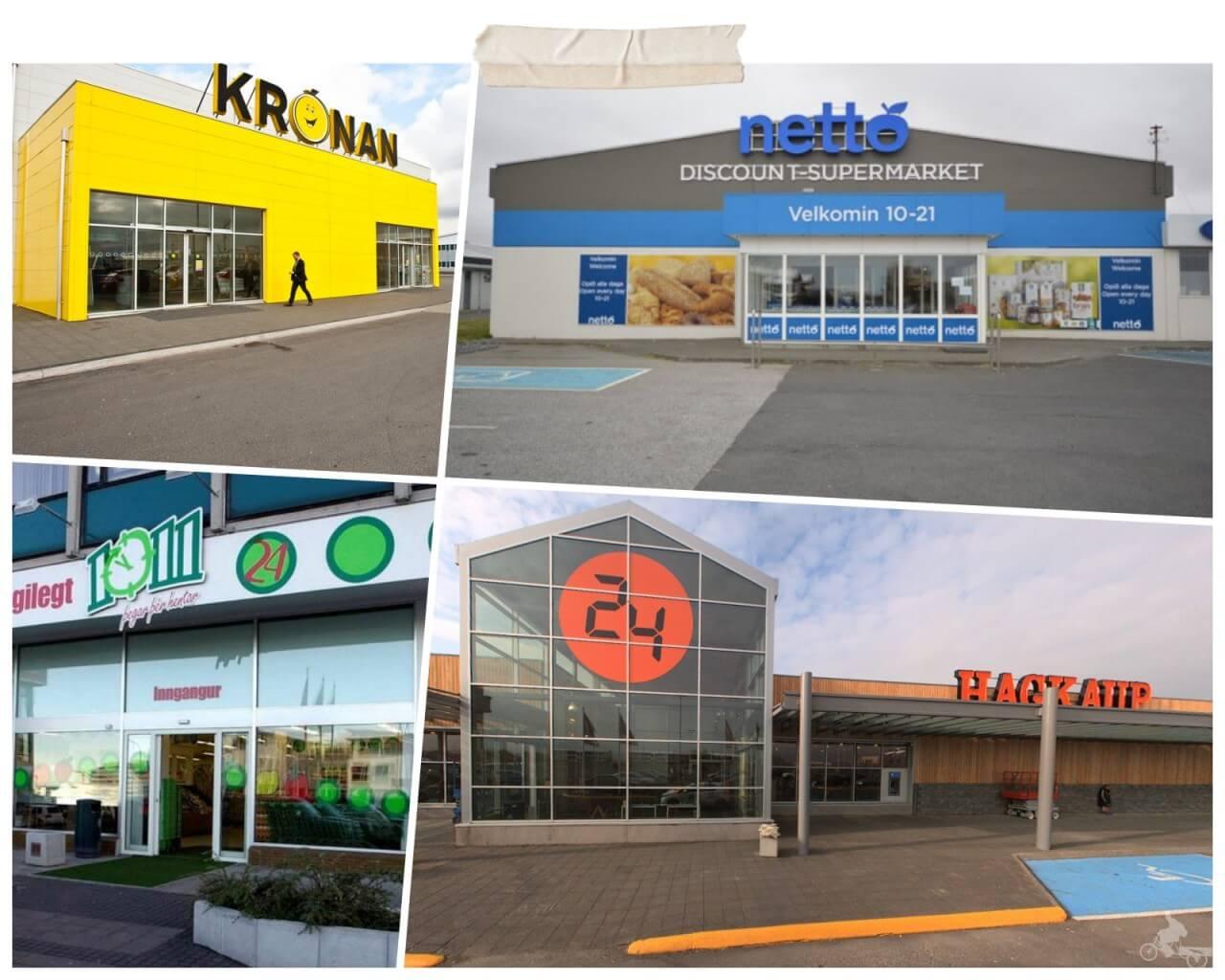 supermercados islandia netto kronan