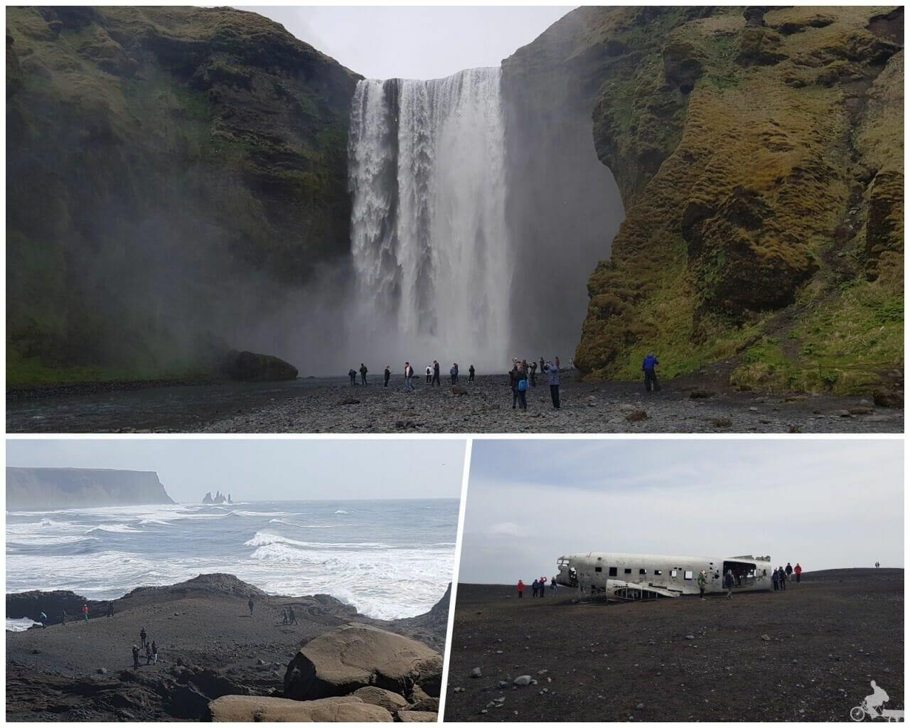 Vík islandia skogafoss cascada