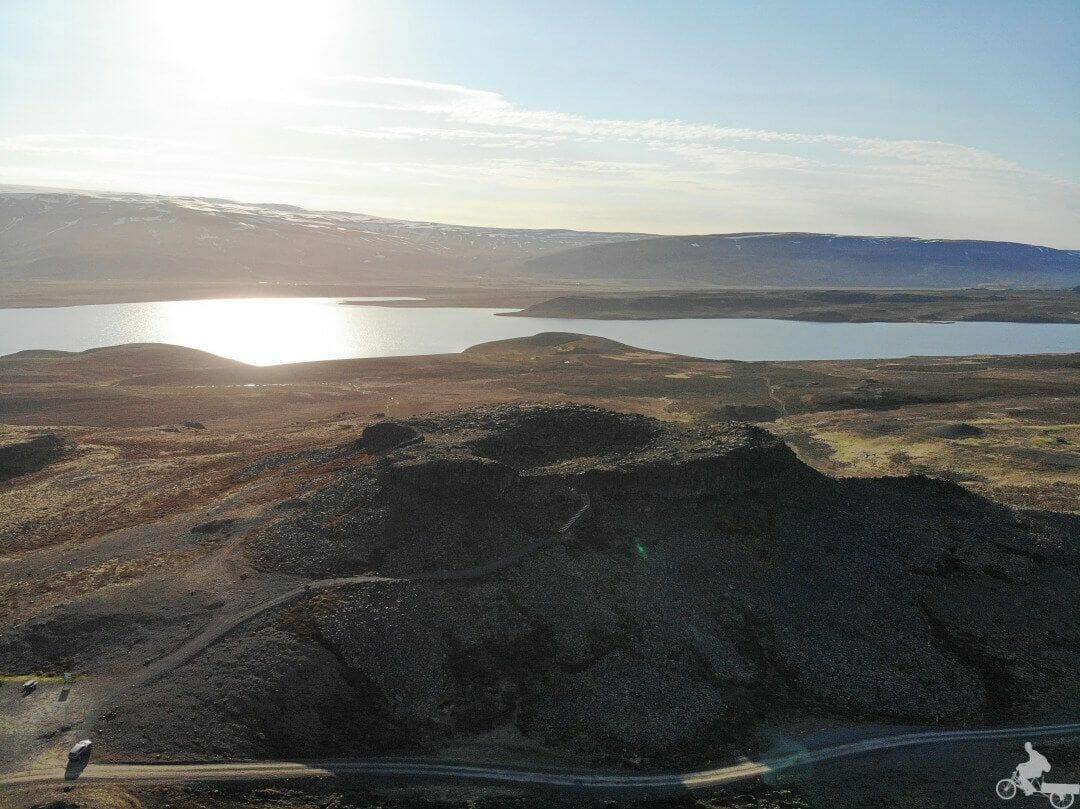 Borgarvirki fortaleza natural islandia