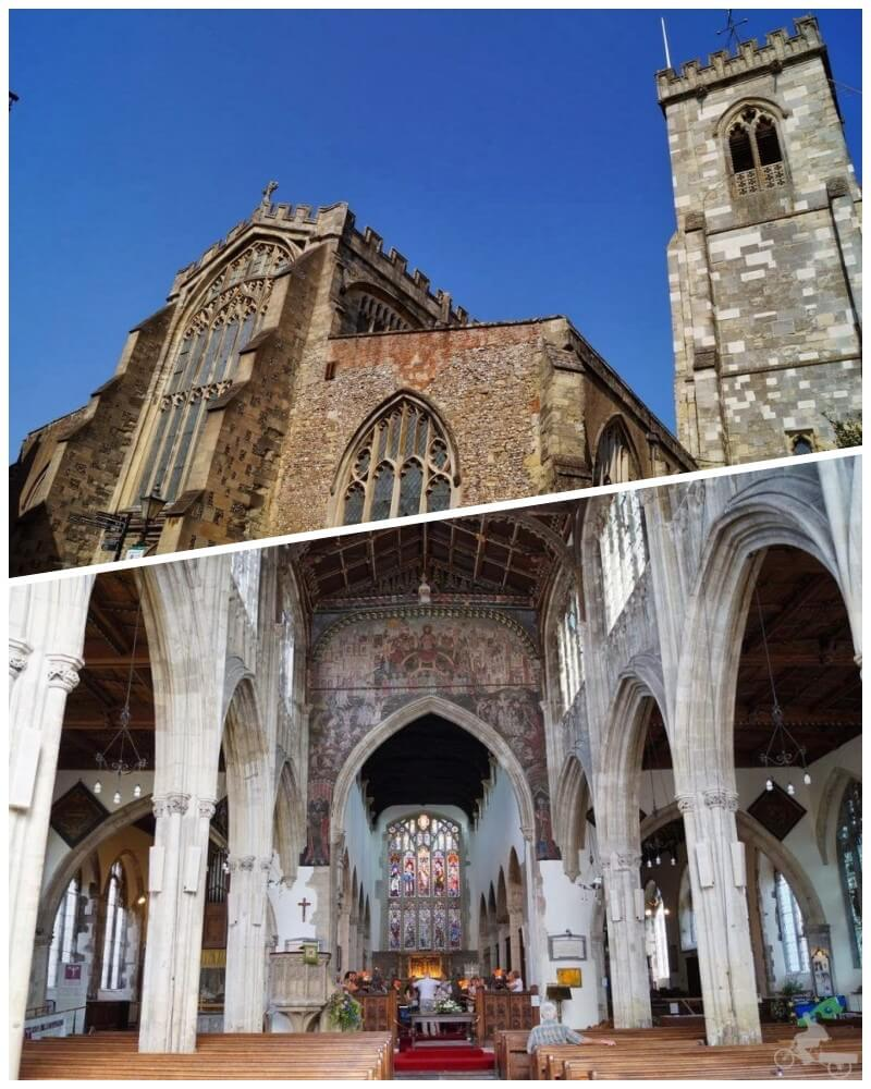 Iglesia de San Thomas - qué ver en Salisbury