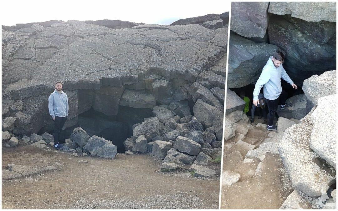 acceso Cueva Grjotagja