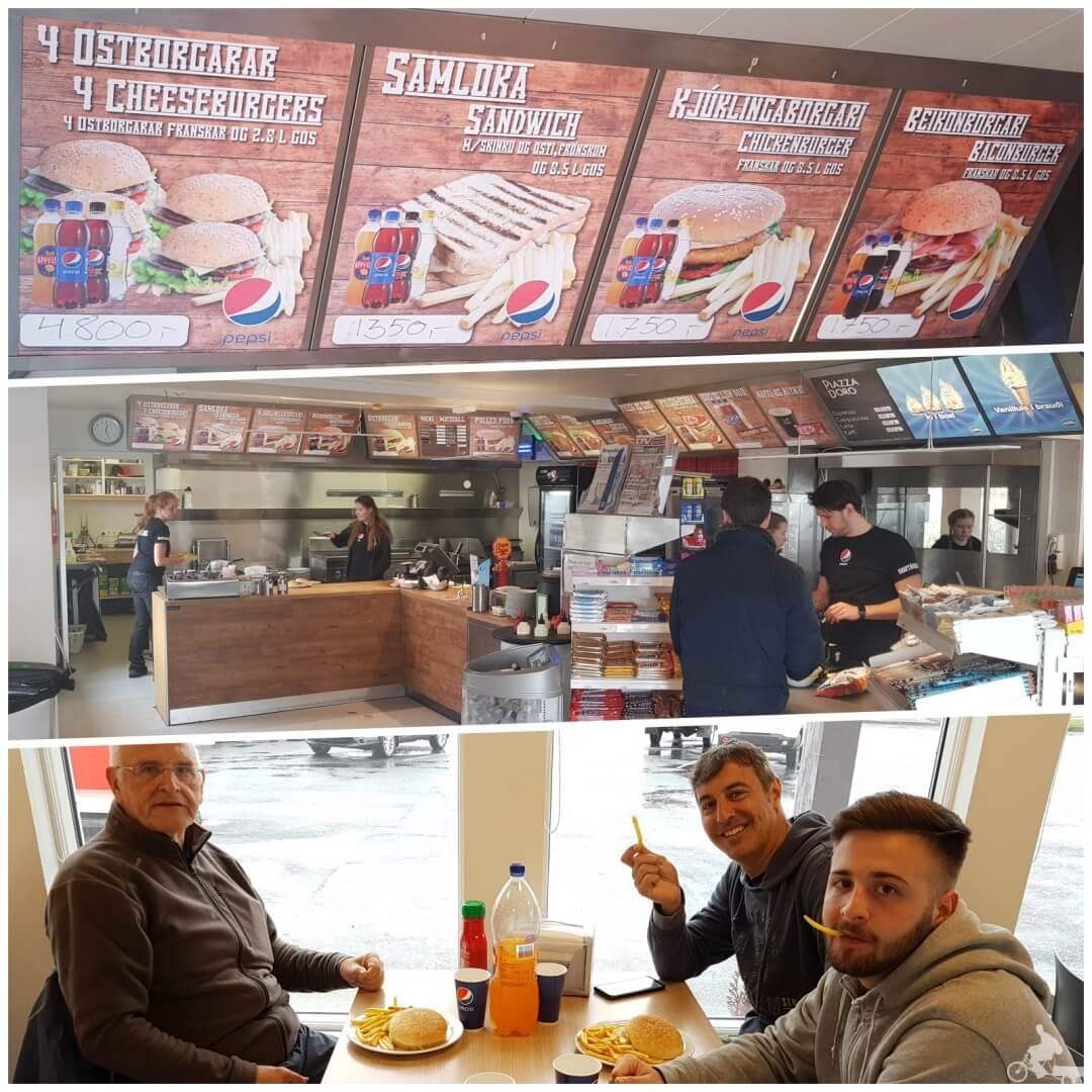 burger gasolinera islandia