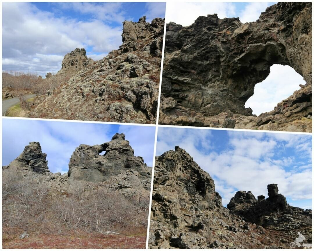 campos lava Dimmuborgir islandia