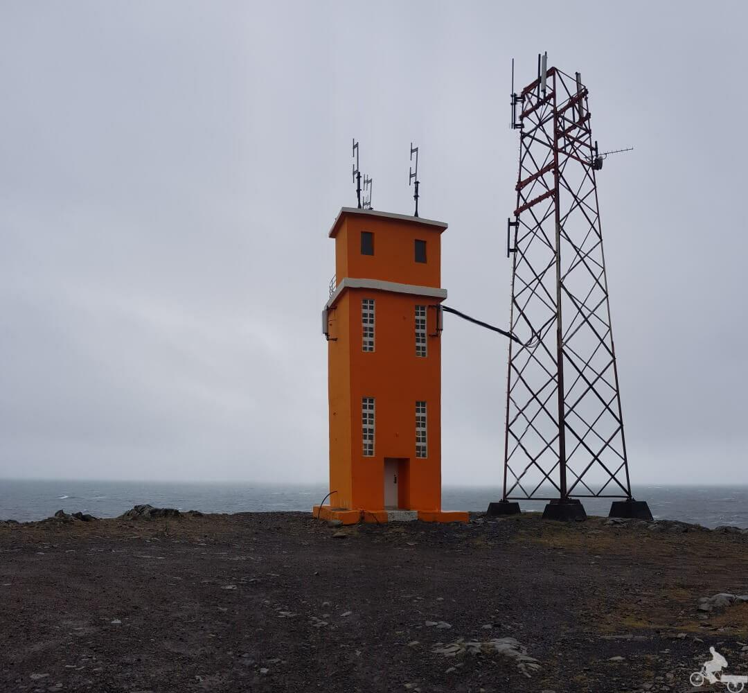 faro Reserva natural Hvalnes