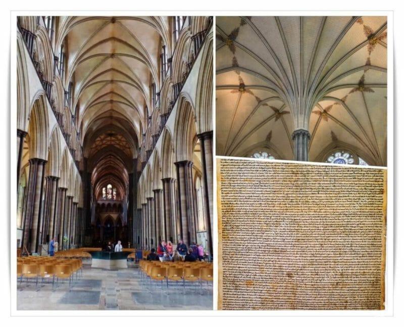 interior catedral salisbury