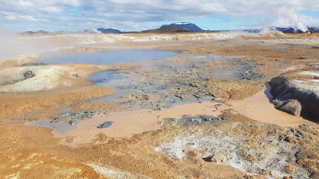 Hverir Islandia
