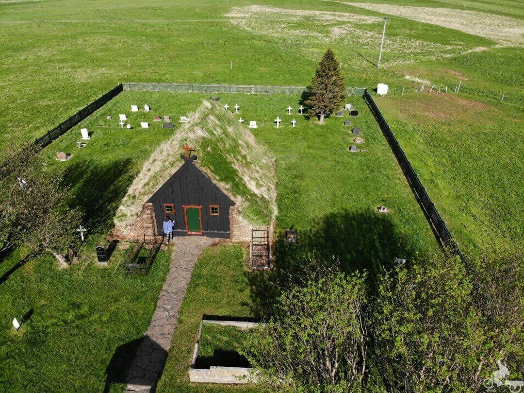 la Iglesia Vídimyrarkirkja