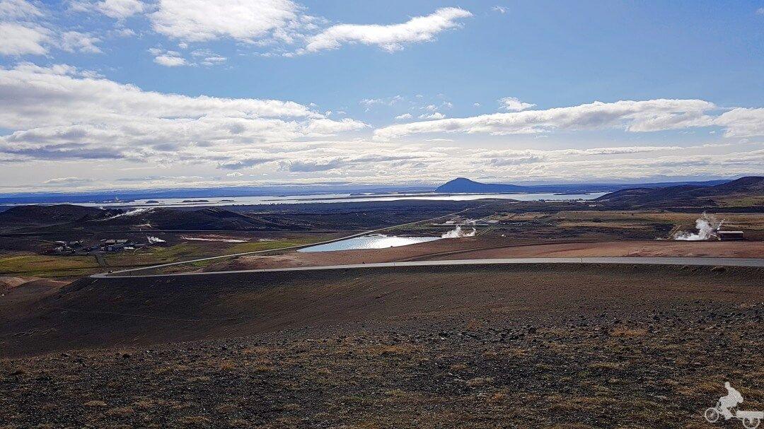 lago myvatn panoramica