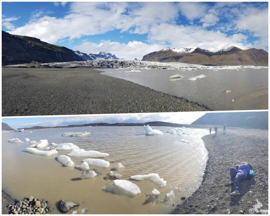 glaciar skaftafell - Parque nacional Skaftafell Islandia