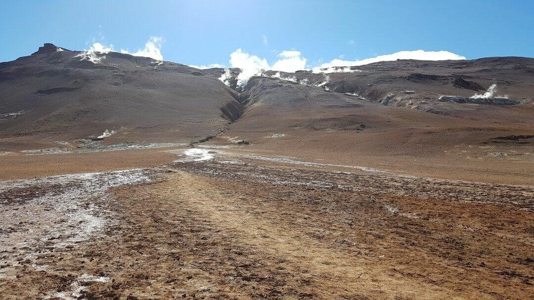 montaña Namafjall