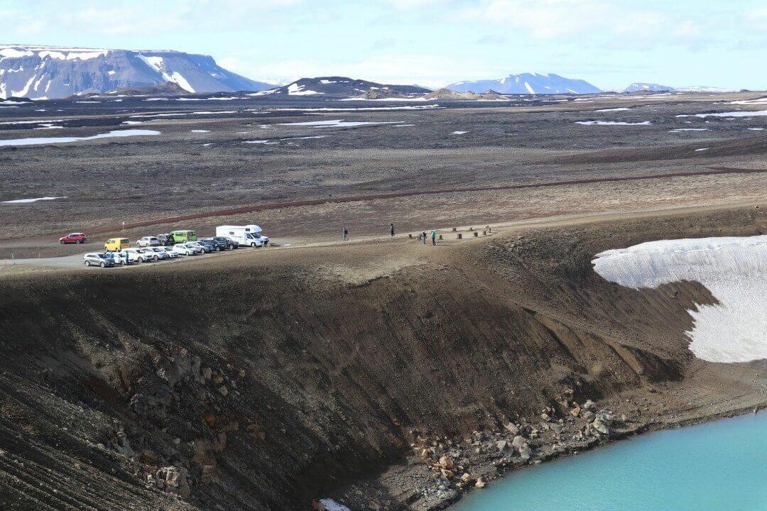 parking crater viti