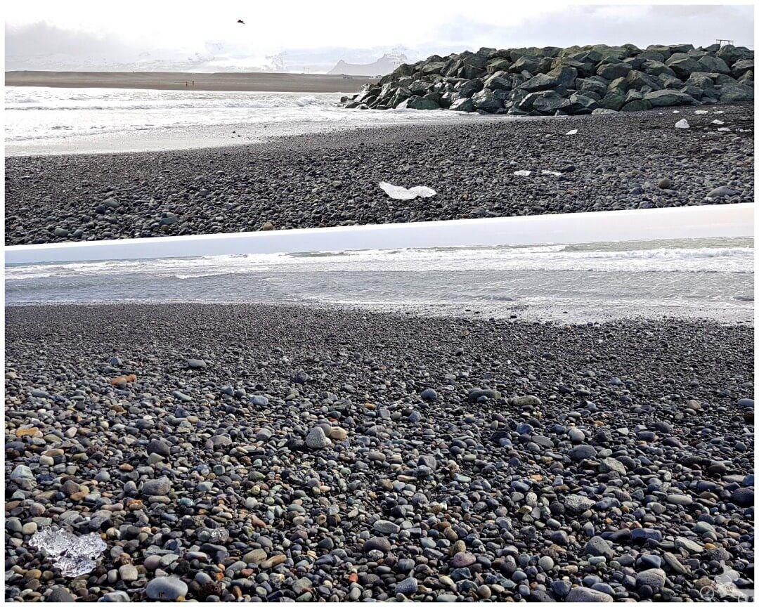 playa diamantes islandia
