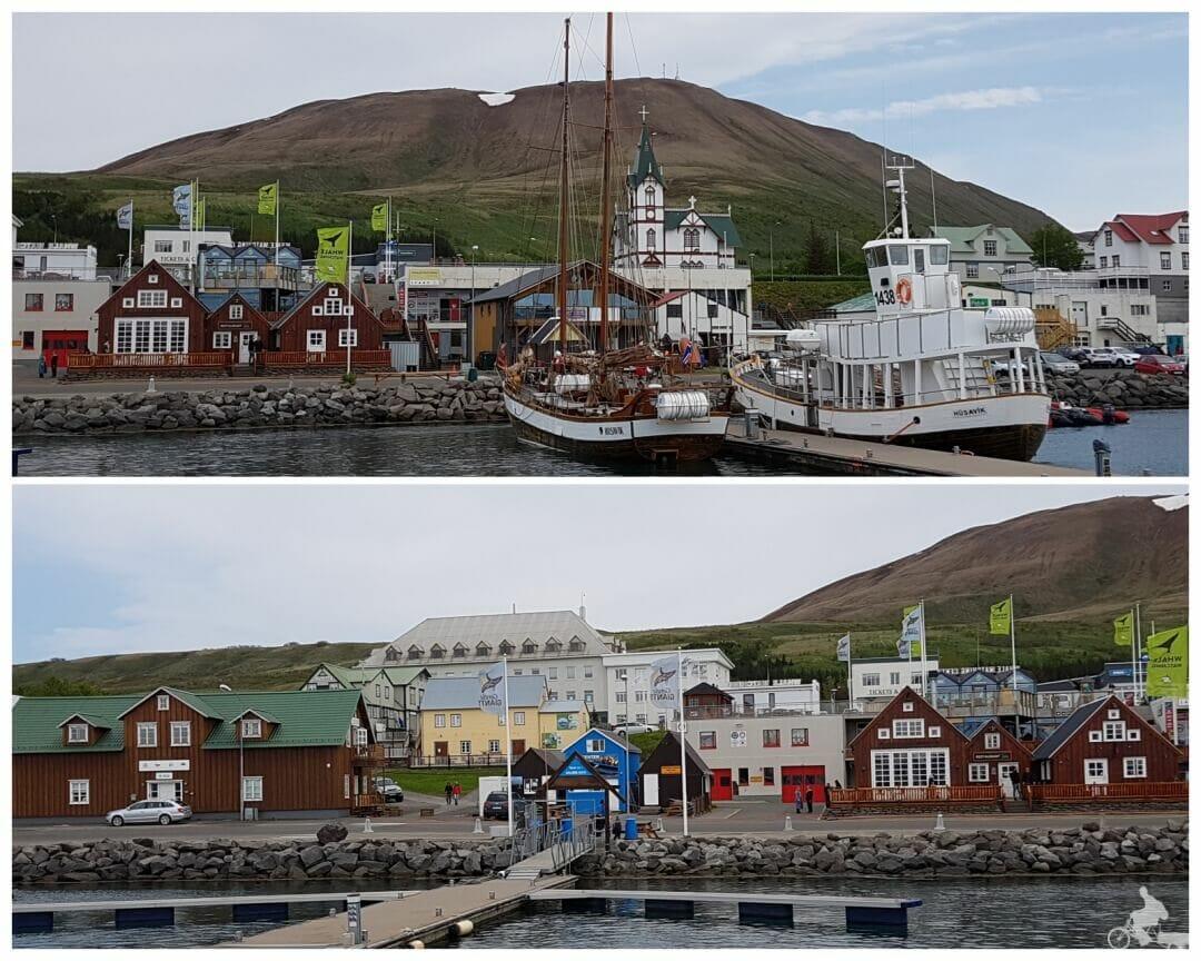 puerto de Avistamiento de ballenas en Husavik