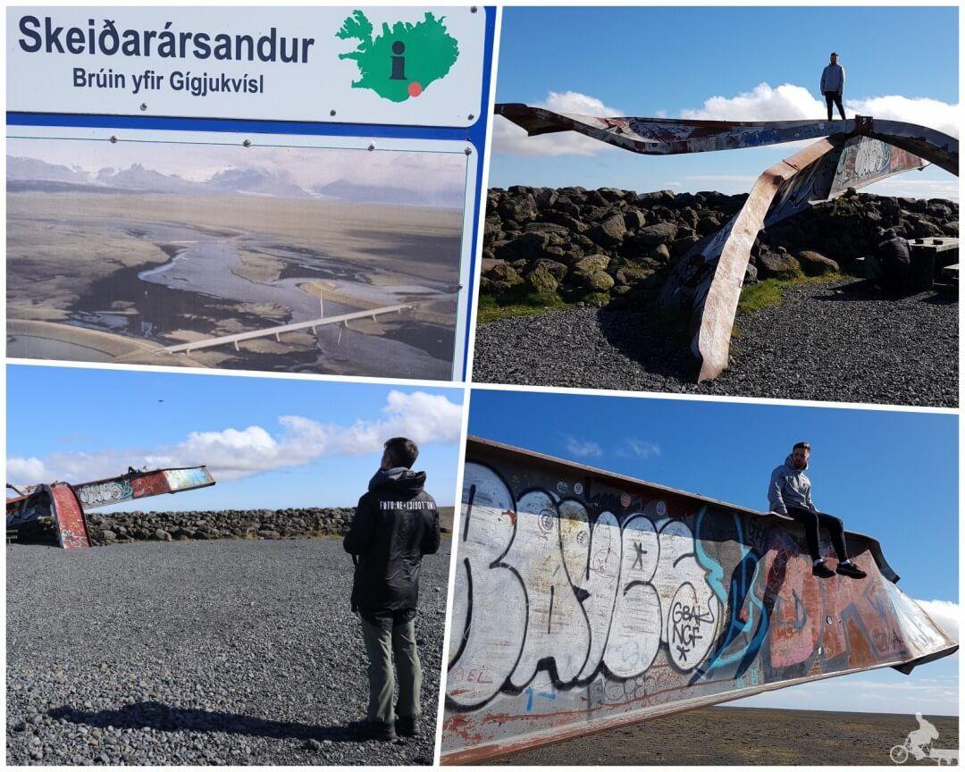 puente Skeiðarársandur - Parque nacional Skaftafell Islandia
